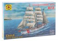 Набор сборной модели - корабль трехмачтовый барк игл (1:350)
