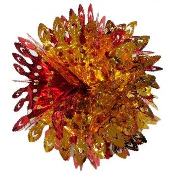 Украшение новогоднее из фольги (объемное), l 57 см