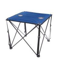 Стол походный складной 620х620х545мм, синий пстп
