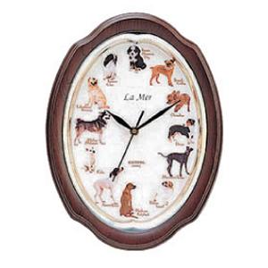 Настенные часы la mer gc 007002 (собаки)