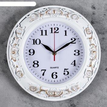 Часы настенные, серия: классика, милена, d=30 см
