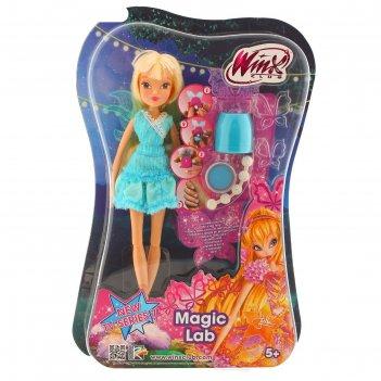 Кукла магическая лаборатория winx club  iw01231500   микс