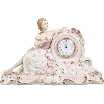 Часы настольные любовь 19*48 см. высота=30 см. циферблат диаметр=8 см.