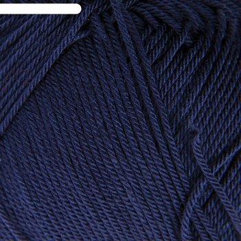 Пряжа diva 100% микрофибра 350м/100гр (361 темно-синий)