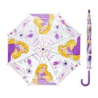Зонт автоматический принцесса рапунцель, r=41,5см, прозрачный