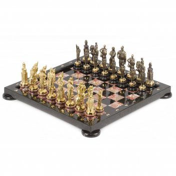 Шахматы русские бронза креноид 380х380 мм