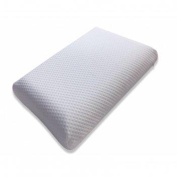 Подушка memory classic, размер 40 x 60 см, трикотаж