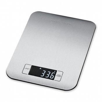 Весы кухонные pc-kw 1061, материал: нержавеющая сталь, цвет: стальной, pc-