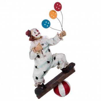 Фигурка клоун 17*9*33 см. коллекция буффонада (кор=6шт.)