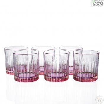 Набор стаканов для виски rcr gipsy оранжевые 360мл (6 шт)