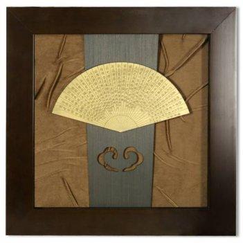 xms-2195 картина деревянный веер