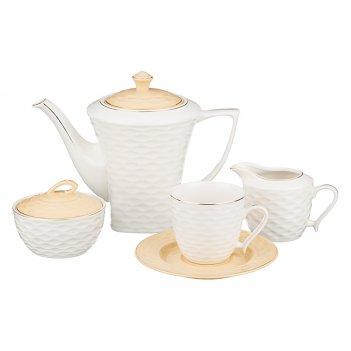 Чайный сервиз на 6 персон 15 пр.1200/220/250/250 м...