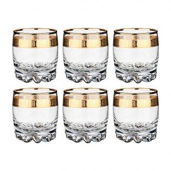 Набор стаканов для виски сильвана греция из 6 шт...