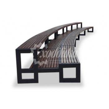 Скамейка «трибуна»  10,0 м