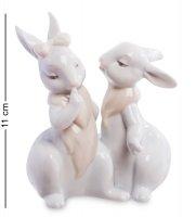 Jp-31/18 фигурка пара кроликов (pavone)