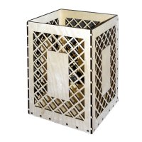 Заготовка для декора корзина для мусора (набор 5 деталей) 40х30х30 см