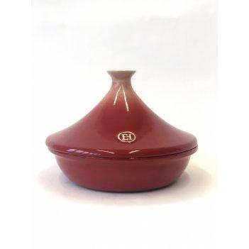 Тажин ii 2 л, 27 см, градиент emile henry цвет: гранат