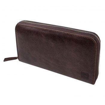 Портмоне-клатч, цвет коричневый, серия каир, арт.197-01