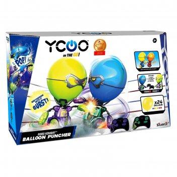 Боевые роботы «робокомбат шарики» фиолетовый, цвет зелёный