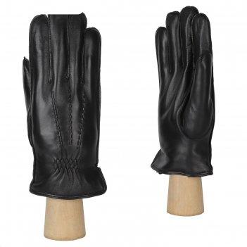 Перчатки мужские, натуральная кожа (размер 9.5) черный