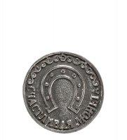 Am-728 монета клевер (олово, латунь)