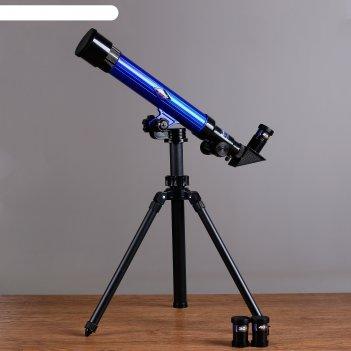 Телескоп настольный сувенирный обучение съемные линзы 20х-30х-40х