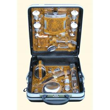 Кейс для пикника подарочный «стрелок» (4персоны)