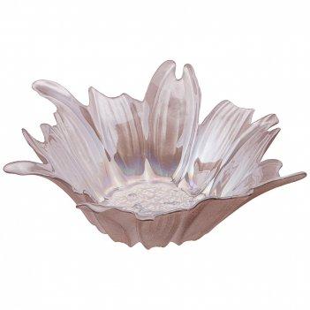 Блюдо глубокое/ваза для фруктов beauty pink 28см без упаковки (мал 4шт)