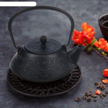 Чайник чугунный 800 мл восточная ночь