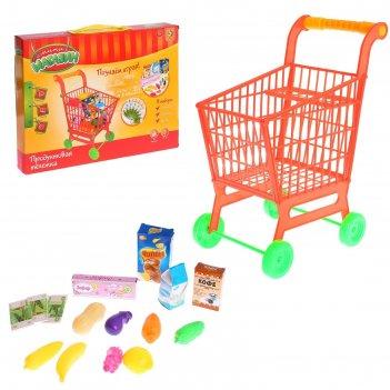 Игровой набор супермаркет с продуктами (большая), высота: 43 см