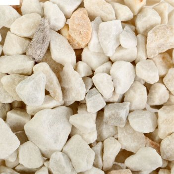 Грунт для аквариума мраморная крошка белая, 3,5 кг, 5-10 мм г-0151