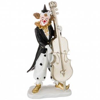 Фигурка клоун 11,5*7,5*23,5 см. коллекция буффонада (кор=18шт.)