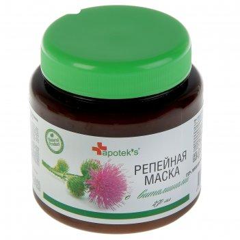 Маска для волос apotek`s репейная с витаминами, 250мл