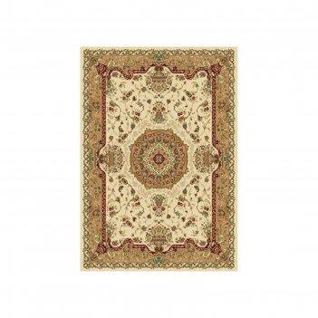 Прямоугольный ковёр izmir d037, 200 х 400 см, цвет cream