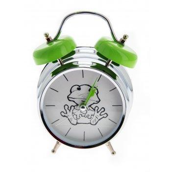 Часы настольные лягушка с функ. будильника 12*6*17см
