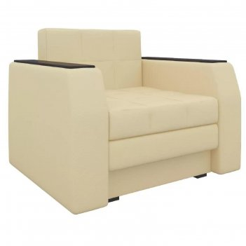 Кресло-кровать «атлантида», механизм выкатной, экокожа, цвет бежевый