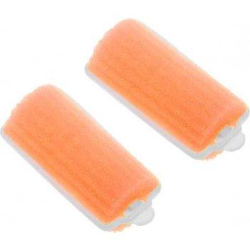 Бигуди поролоновые dewal beauty оранжевые d 28ммx70мм(10шт/упак)