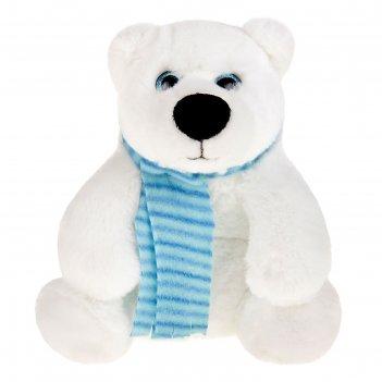 Мягкая игрушка медведь белый галант, 20 см