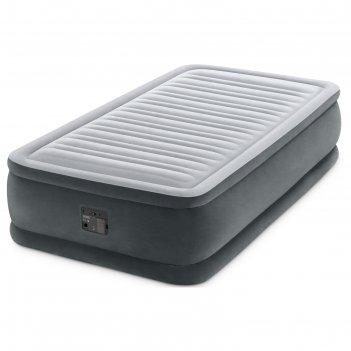 Кровать надувная comfort-plush twin 99х191х46 см, со встроенным насосом 22