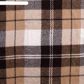 Плед шерстянной эльф 170х210 см, бел/беж/кор рап.2, 100% новозеландская ше