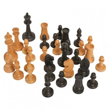 Шахматные фигуры сенеж российские №2