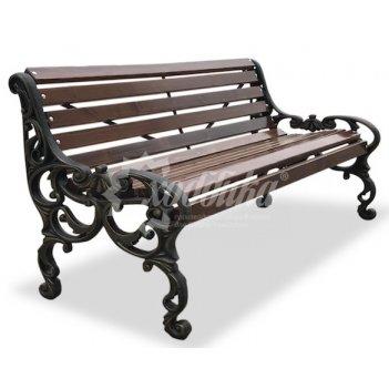 Скамейка чугунная «трон» 1,5 м
