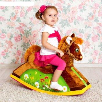 Детская игрушечная качалка «лошадка»