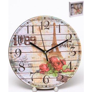 Часы настенные круглые home art 19 см
