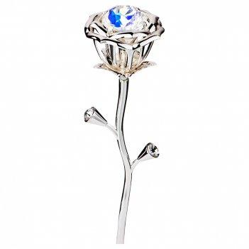 Изделие декоративное роза 5*4.5*19 см (мал=6шт./кор=18шт.)