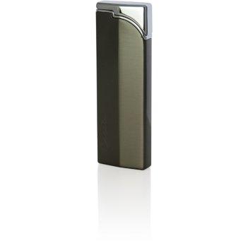 Зажигалка caseti газовая пьезо, сплав цинка, покрытие хром + т