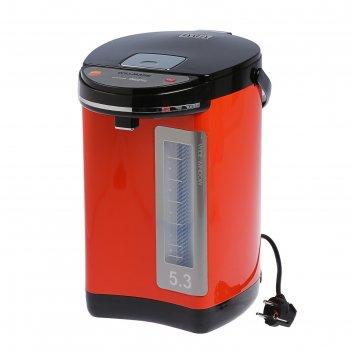 Термопот willmark wap-502kl , 5.0 л, 900 вт, оранжевый