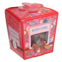Подарочный набор для тела и души: мыло д/душа и бани «земляничное», 450 мл