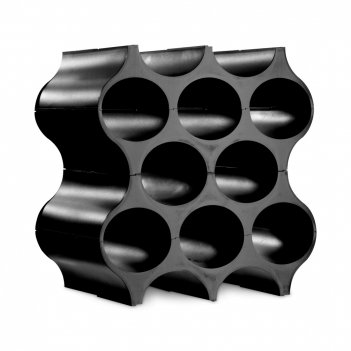 Подставка для бутылок, размер: 35,3 х 23 х 36,4 см, материал: термопластик