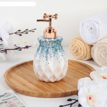 Дозатор для жидкого мыла «лолита», цвет синий